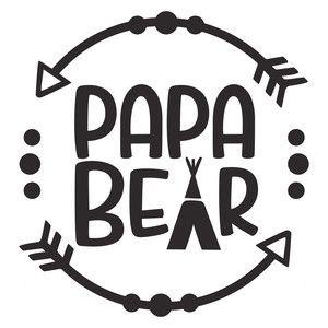 Papa Bear Logo Silhouette Designs Amp Ideas Silhouette