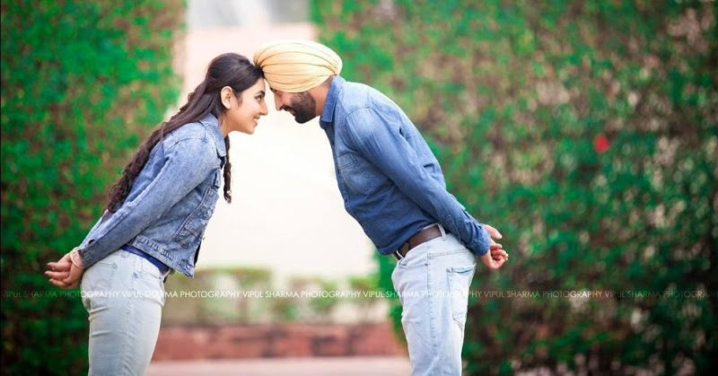 Punjabi Pre Wedding Couple Photography | www.pixshark.com ...