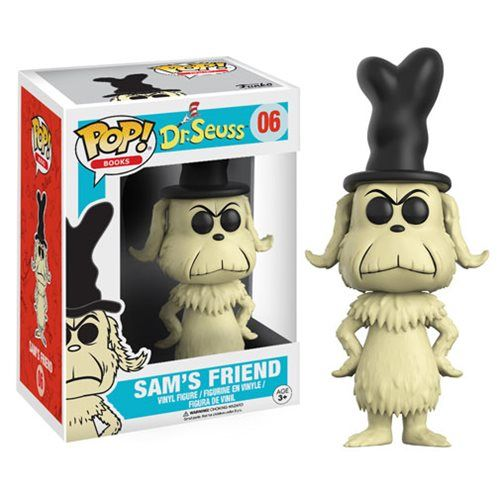 Dr Seuss Sam S Friend Pop Vinyl Figure Entertainment Earth Pop Vinyl Figures Vinyl Figures Pop Book