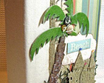 beach themed photo album