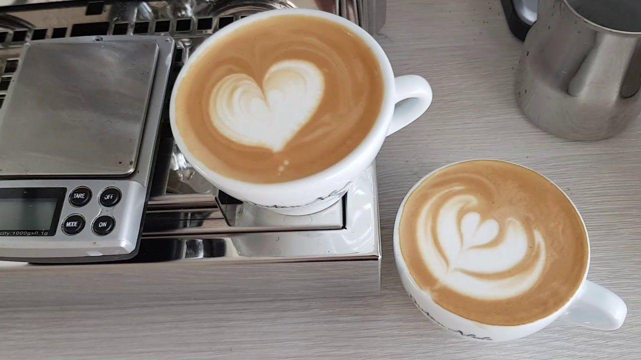 افضل ماكينات القهوة لاتيه توليب هارت أبيض مسطح على الربح 700 Pro و Baratza Sette 270 Latte Food Drinks