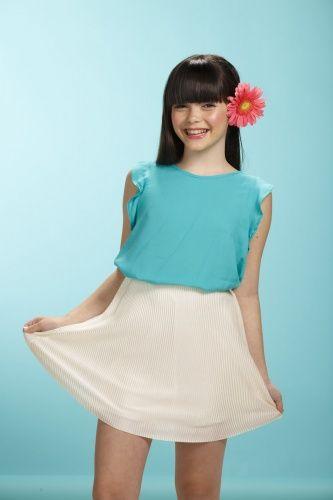 53949e42d Faldas y vestidos para niñas primavera verano 2018 | Moda primavera verano  2018 faldas y blusas