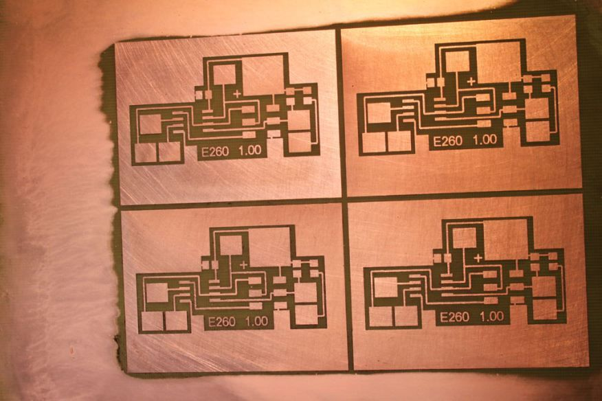 PCB Toner Transfer Method, Now Without The Transfer   идея