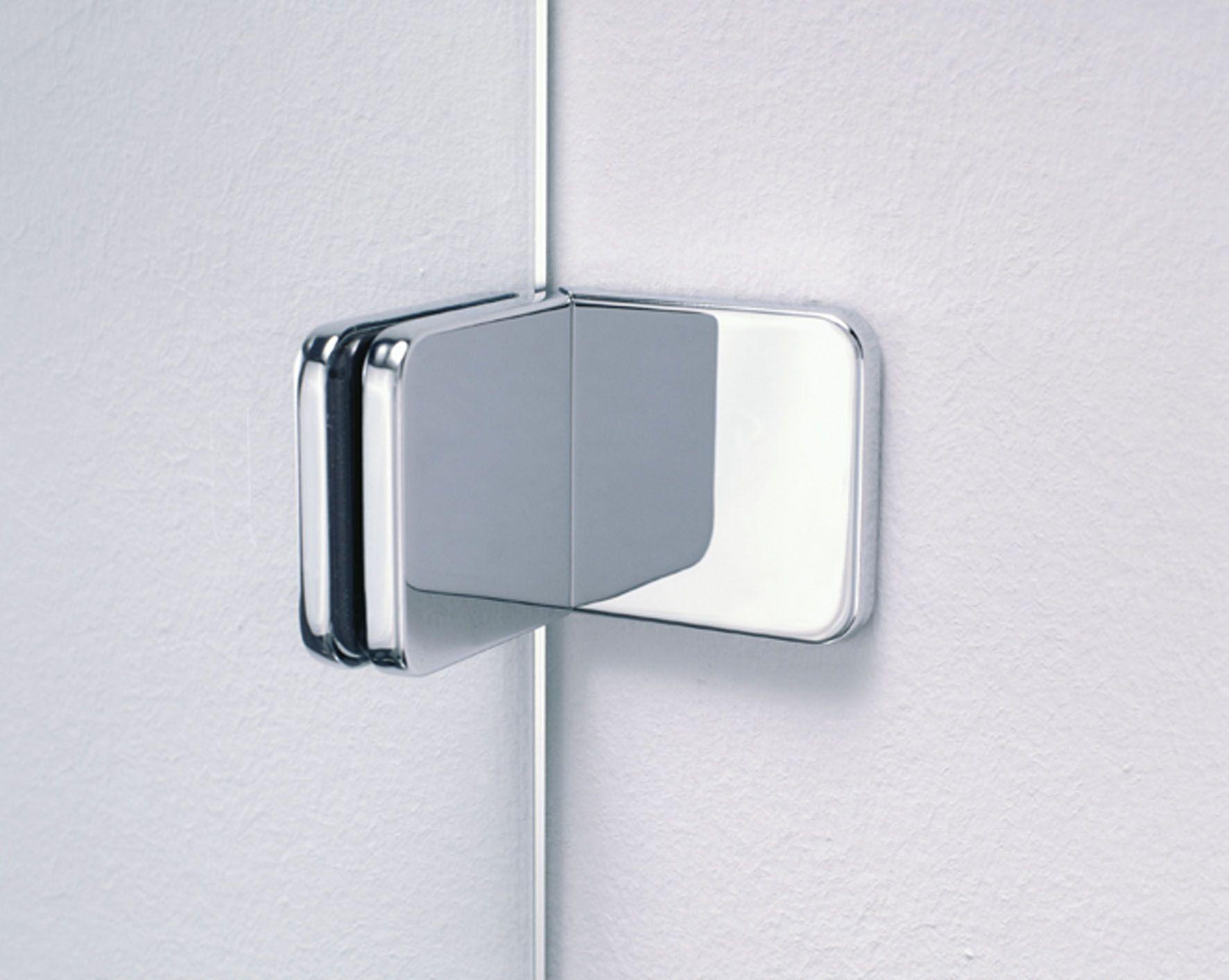 Rahmenlose Duschabtrennung Durch Belastbare Beschlage Und Scharniere Glaslosungen Glas Badezimmer Interior Eigenheim Glasduschen Dusche Duschabtrennung