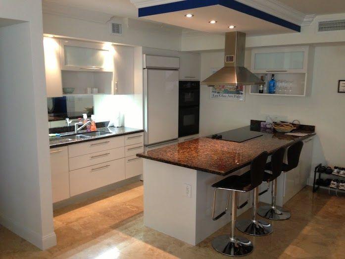 custom kitchen cabinets metro door brickell kitchens miami | Home ...