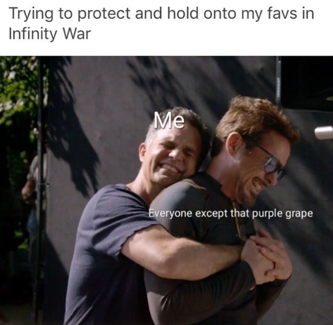 how to make infinity war fade meme