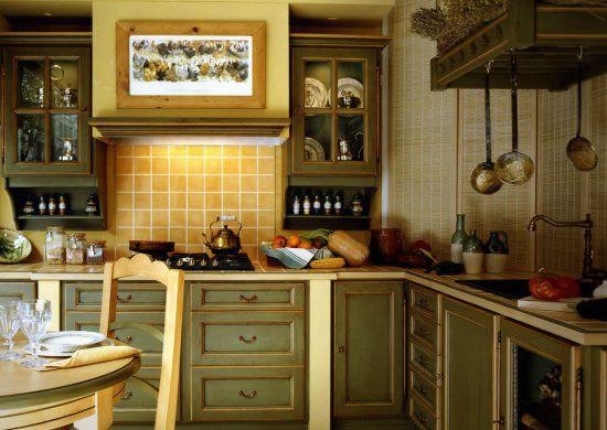 Campanas de madera cocinas rusticas cocinas de madera - Encimeras rusticas ...