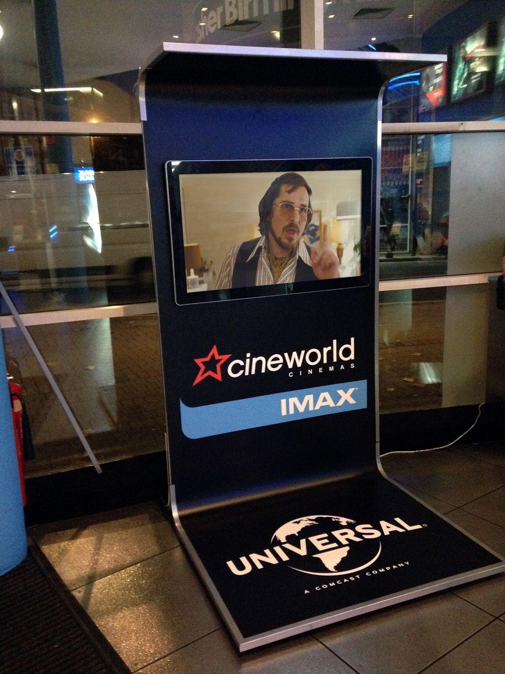Cinema Cinema Poster Display Imax