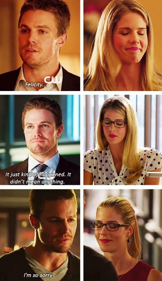 Arrow - Oliver and Felicity #2.6 #3.1 #Olicity ♥