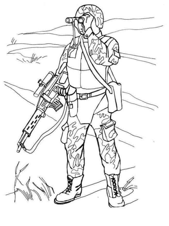 Ausmalbilder Armee 01 | ausmalbilder | Pinterest | Ausmalbilder ...