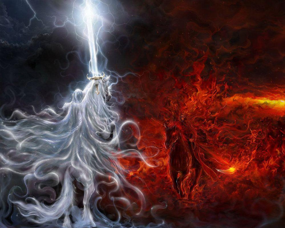 naked angels vs demons