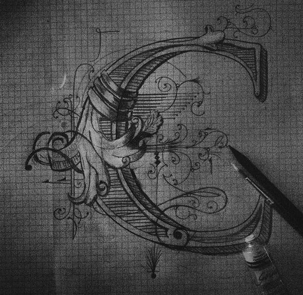 Monogram for Calligraphi.ca