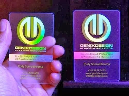 Coolest holographic business card creative business cards coolest holographic business card colourmoves