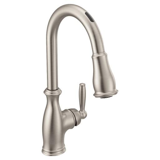 U By Moen Smart Faucet In Brantford Spot Resist Stainless In