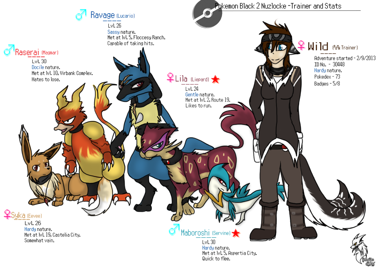 pokemon black nuzlocke