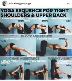 yoga sequence for tight shoulders and upper back  easy