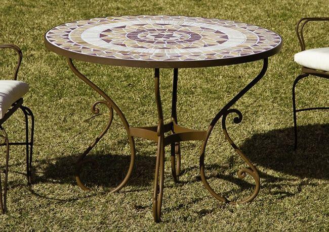 Sillas forja solera en 2019 muebles de jardin y jardines for Mesa y silla de muebles de jardin barato