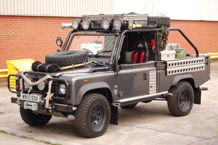 Landrover Defender Croft Raider Jpg 743 X 496 100