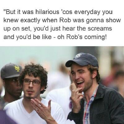 Tate Ellington on working with Rob