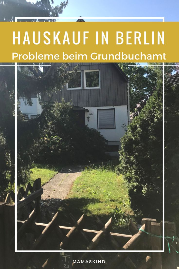 Probleme beim Hauskauf Notar & Grundbuchamt Haus