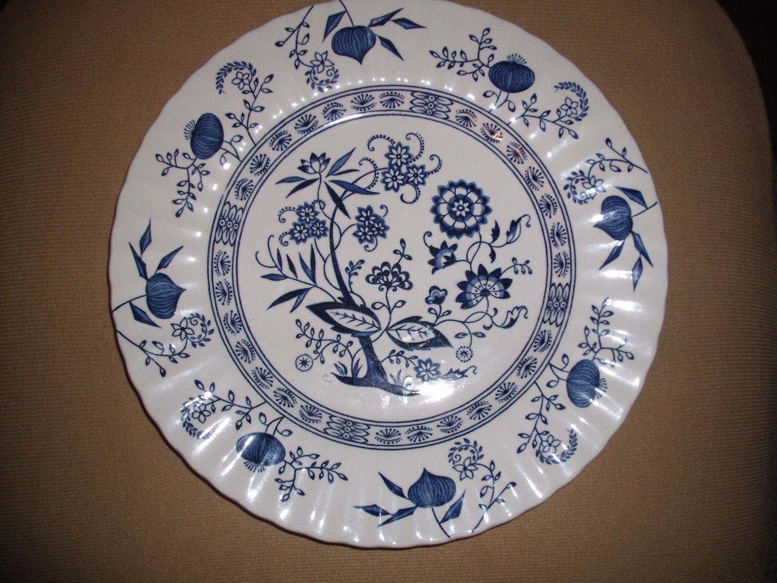 J G Meakin English Ironstone 10 Plate Blue Nordic Hand Engraving Classic Vtg Blue Nordic Blue And White China Blue Plates