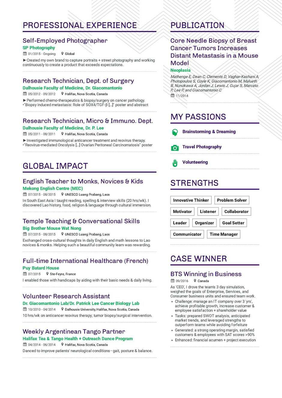 Online Free CV Templates 2020 free online resume html