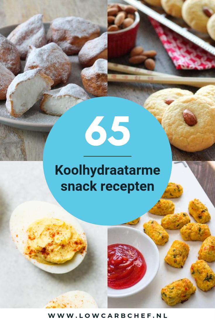 65+ Koolhydraatarme snack recepten