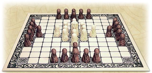 Hnefatafl A Viking Board Game Fun Strategic Game