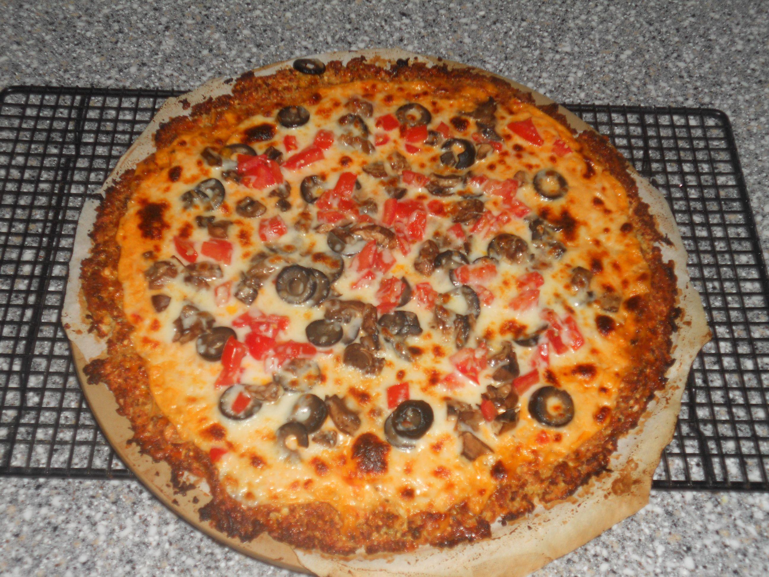 Cauliflower crust pizza cauliflower crust pizza