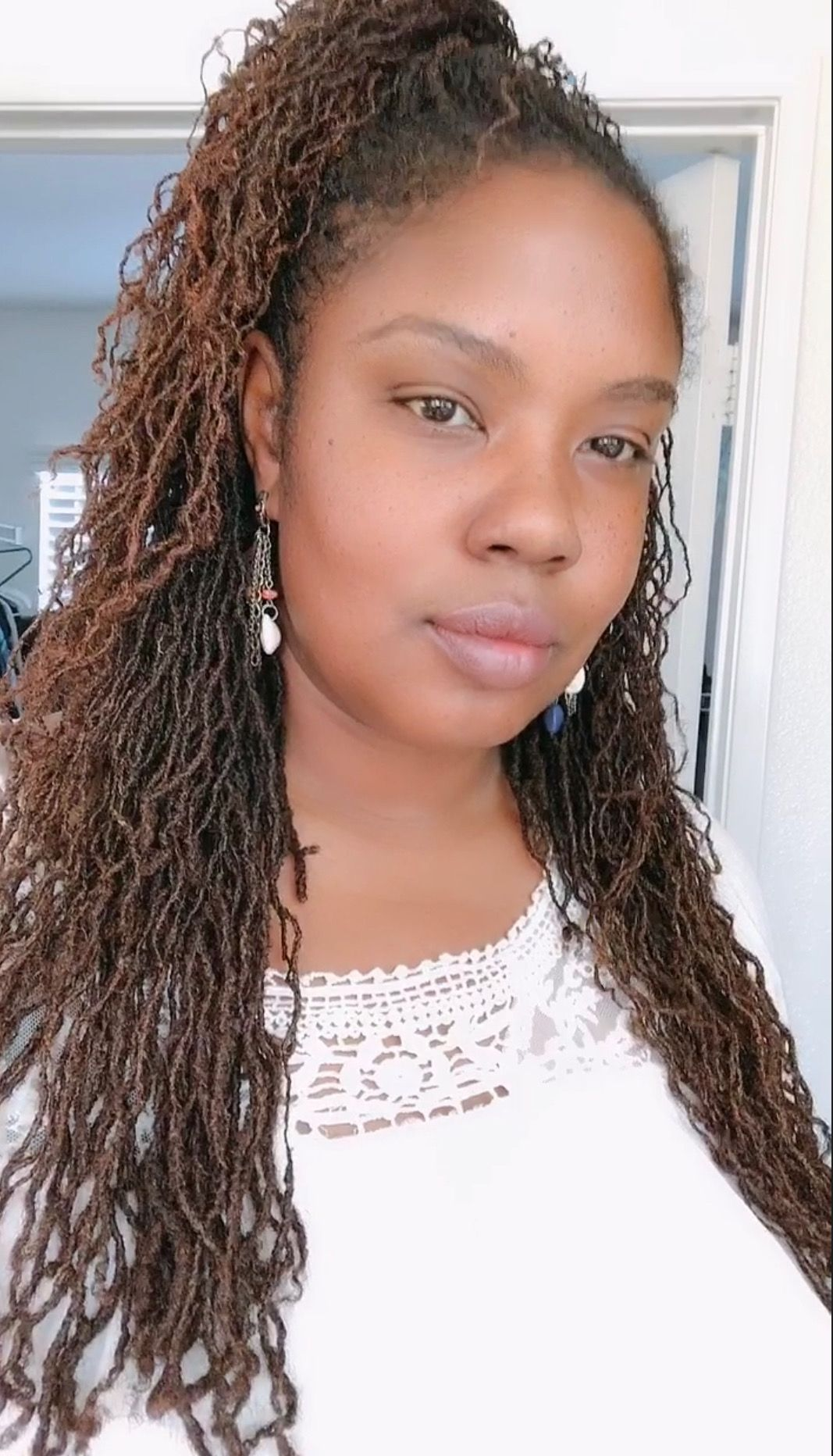 #sisterlocks in 2019   Natural hair styles for black women, Afro hairstyles, Stylish hair