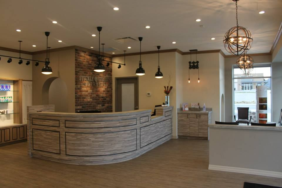 Stickle & Strawn Reception Area Designed By Barbara Wright