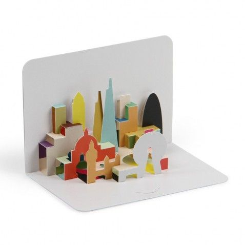 London Skyline 3d Pop Up Card Paperchase Pop Up Cards Pop Up Book Beautiful Birthday Cards