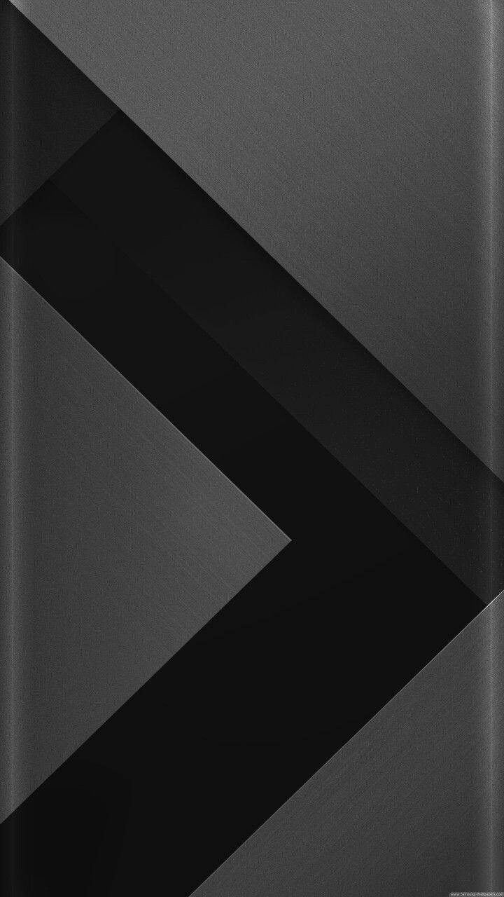 Grey And Black Arrow Wallpaper Black Wallpaper Geometric Wallpaper Wallpaper