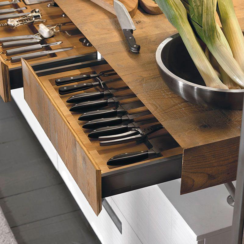 La cucina componibile Lab 40 di Marchi Cucine in stile moderno ...