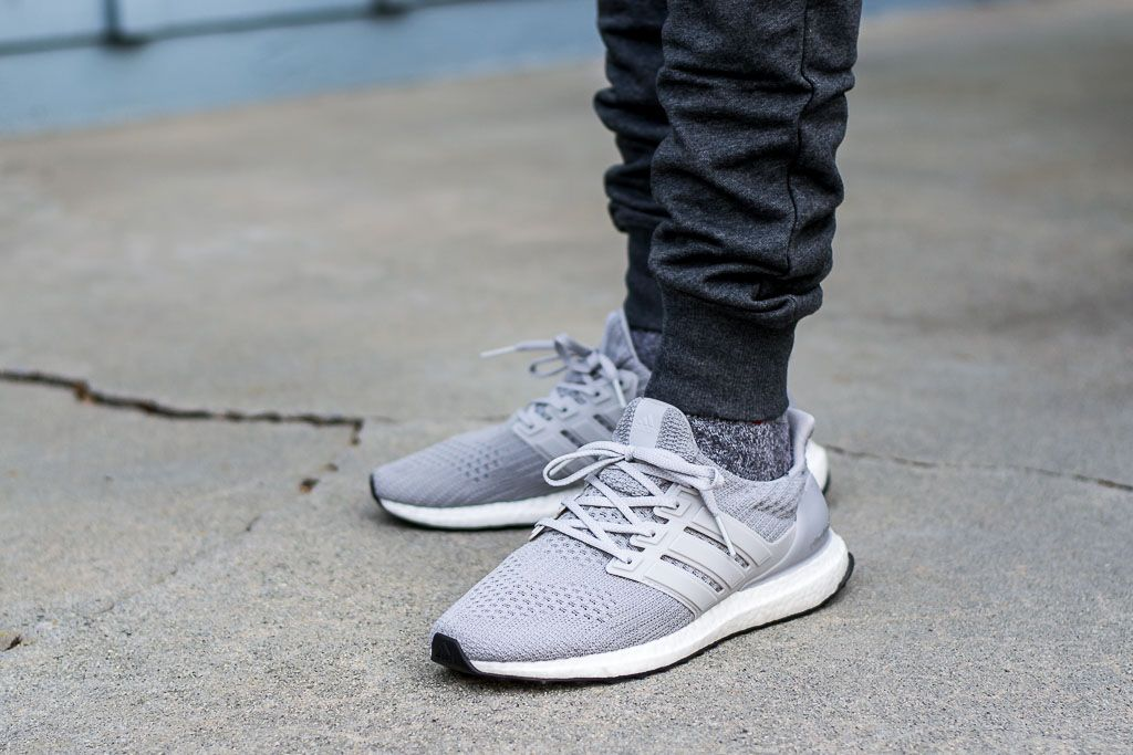 52e3129a66b Adidas Ultraboost 4.0 Grey On Feet Sneaker Review
