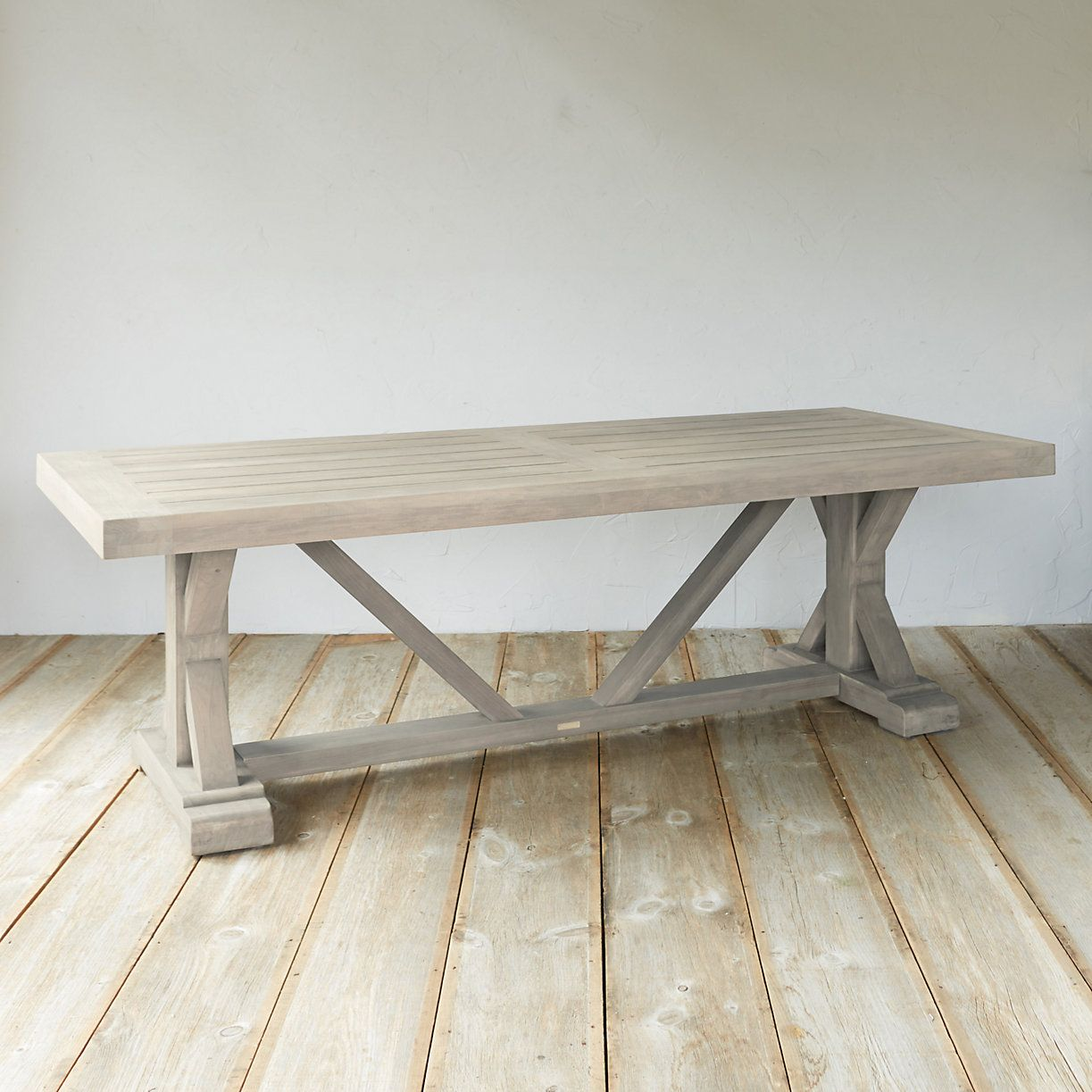 Trestle Teak Dining Table Dining Table Trestle Dining Tables