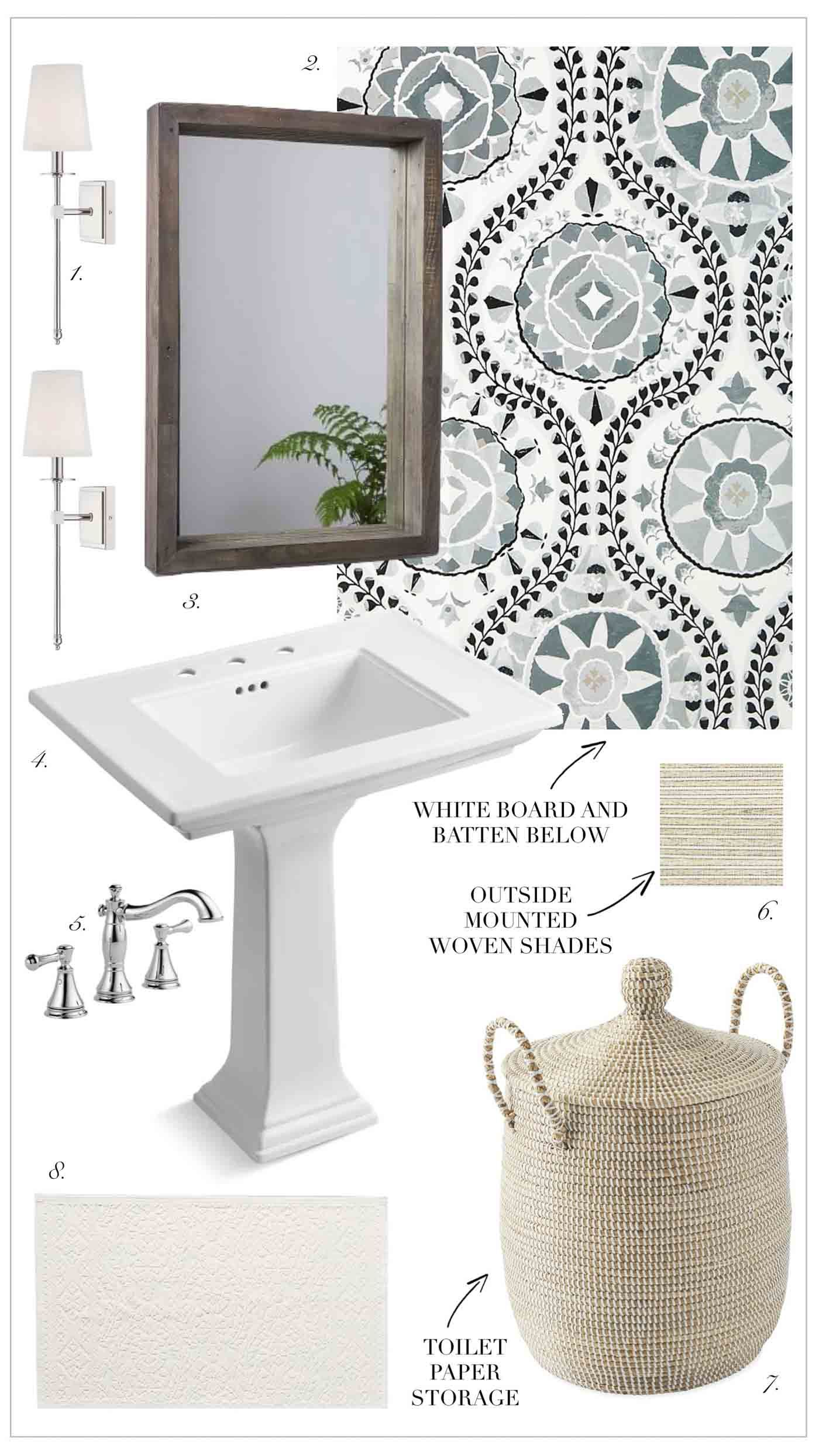 Four Potential Powder Room Design Ideas With Images Powder
