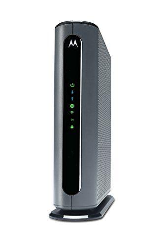Motorola MG7700 24X8 Cable Modem Plus AC1900 Dual Band