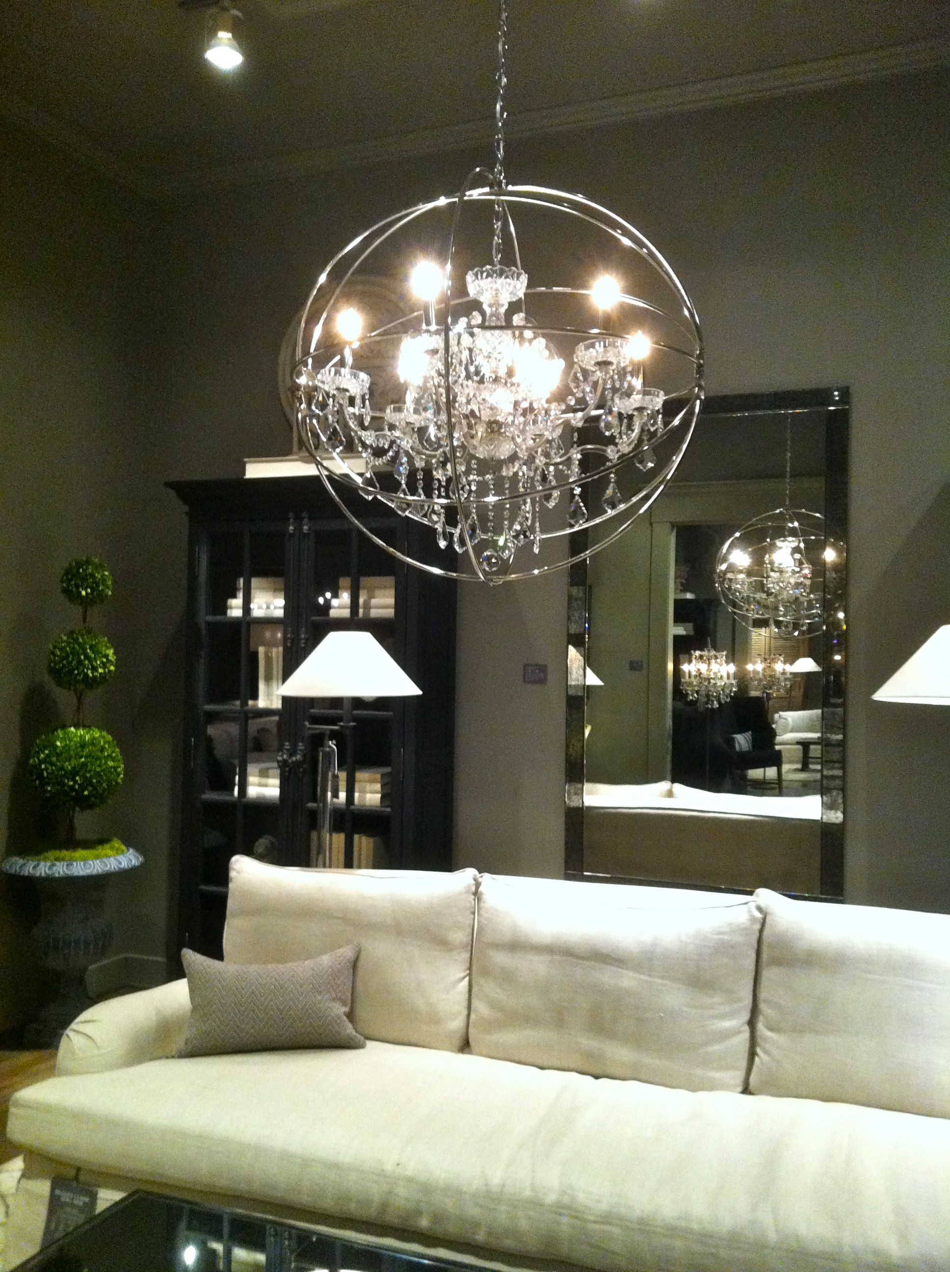 Restoration Hardware Light Fixture