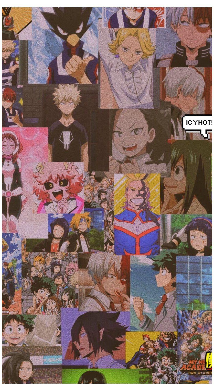 My Hero Academia Aesthetic Wallpaper Anime Aesthetic Wallpaper Iphone Animeaestheticwallpaper In 2021 Anime Wallpaper Iphone Anime Wallpaper Anime Wallpaper Phone