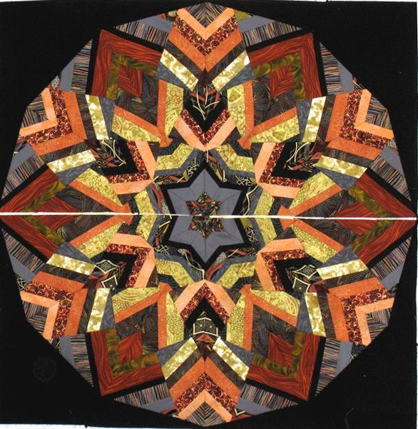 Ricky Tim S Kool Kaleidoscope Quilt I M Making This With Some Friends At A Retreat This Upcoming Weekend At Ellen La Kaleidoscope Quilt Star Quilts Art Quilts