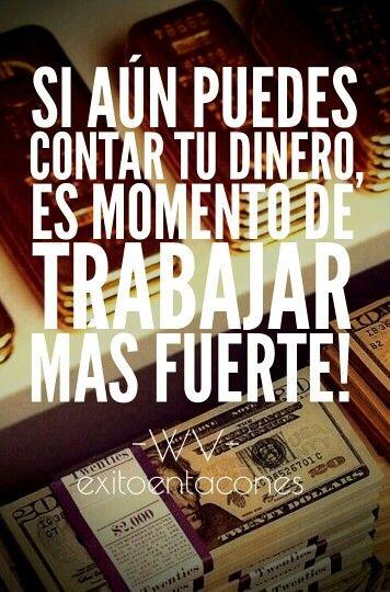 Si tu quieres llegará el día en el que tu dinero en la cuenta de banco sea incontable ;)!!!  -WV-  #exitoentacones #ConstruyendounImperio #frase #mujerentrepreneur #mymoney#iamamoneymaker
