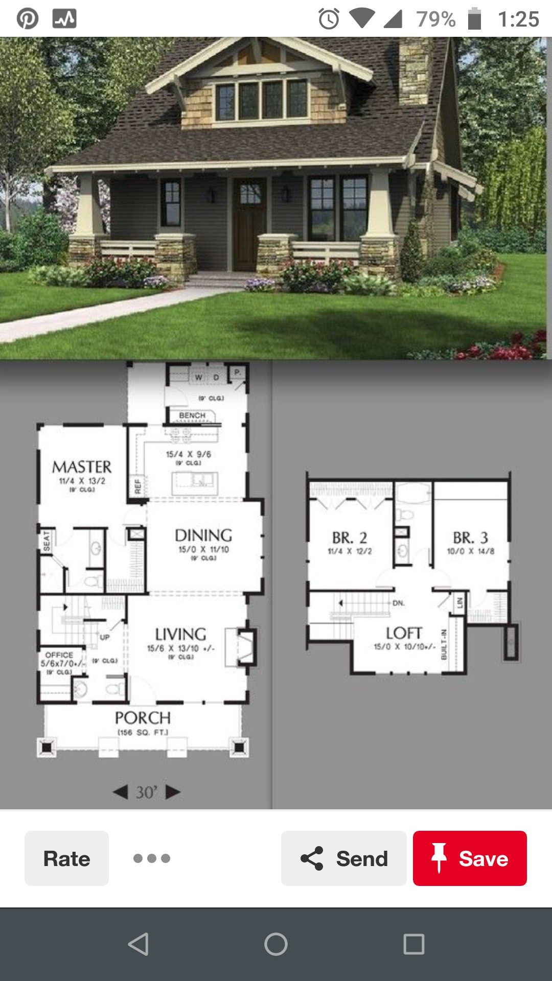 Pin By Chemene On Bungalows Craftsman House Modular Home Plans Prairie Style Houses