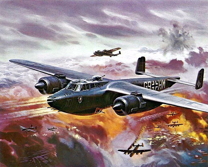 어두운 밤을 불태웠던 2차세계대전의 야간전투기들 :: 흥미로운이야기세상