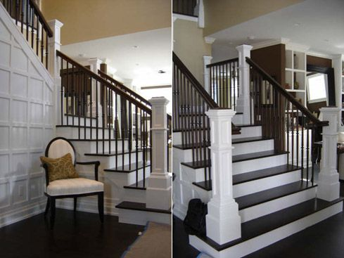 Best Love Everything About This The Stairs The Paneled Wall 400 x 300