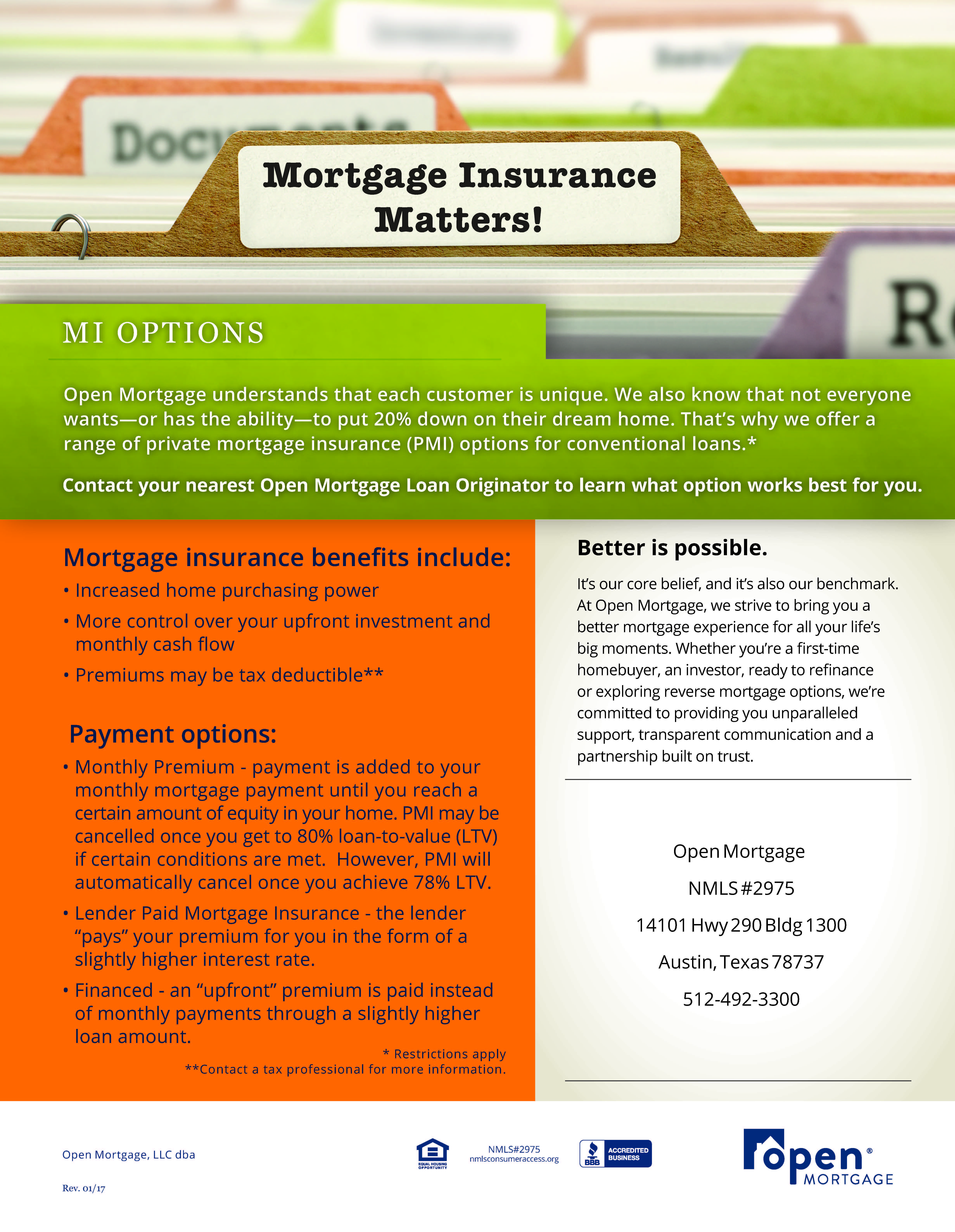 Start health insurance cost pay off mortgage early