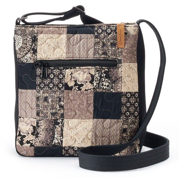 Donna Sharp Hipster Montreal Quilted Patchwork Crossbody Bag 46 Liked On Polyvore Featuring