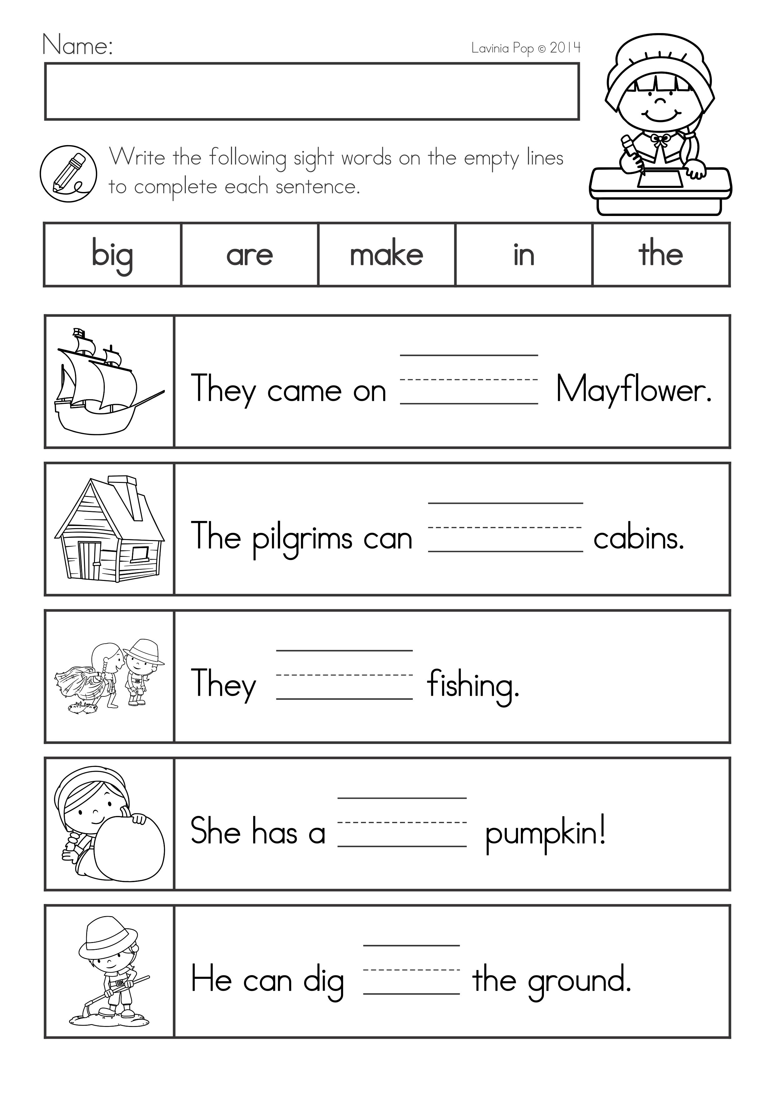 Thanksgiving Math Literacy Worksheets And Activities Literacy