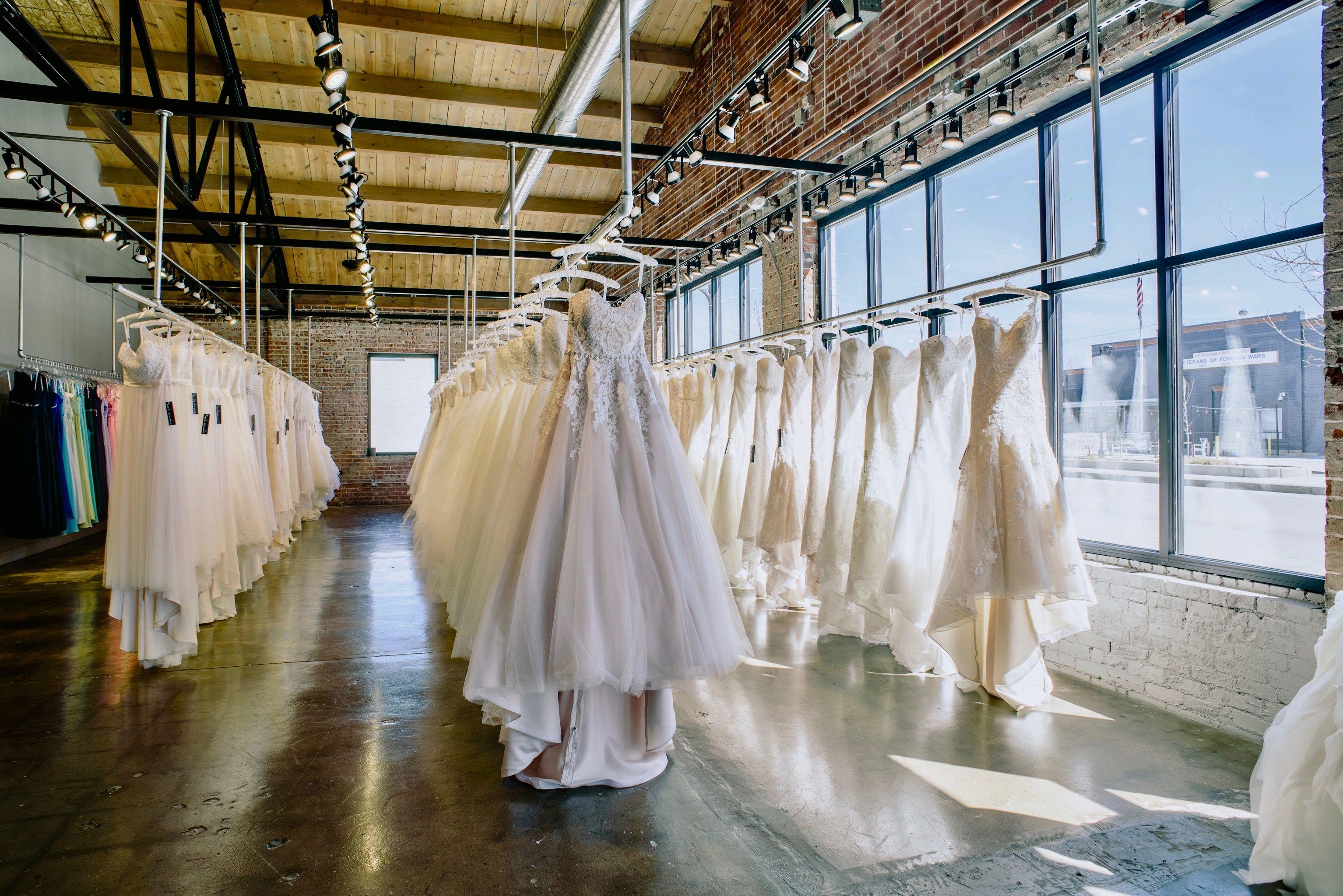 Beautiful Bridal Shop in Denver Colorado Luv Bridal