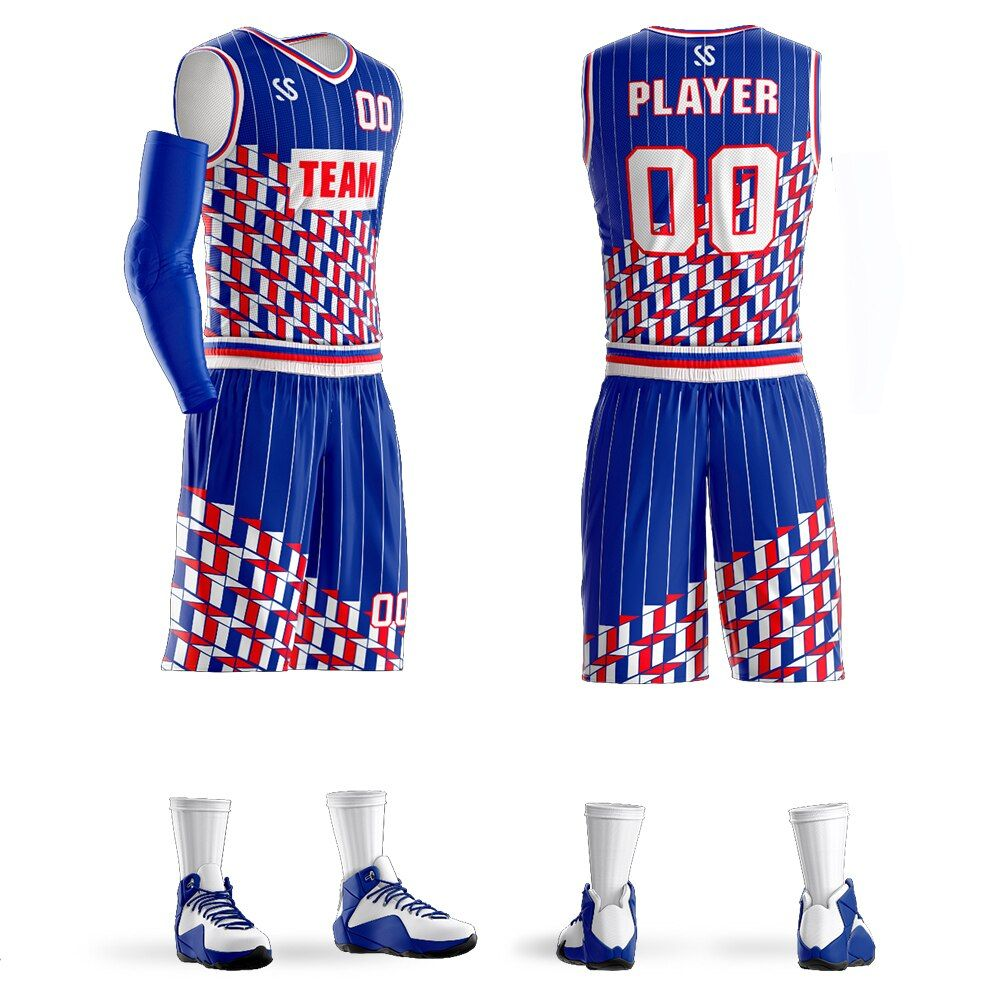 Wholesale Blank Customize Your Own Basketball Jersey Design Online Basketball Uniforms Set Jersey Design Wholesale Blanks Basketball Jersey